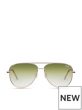 quay-australia-quay-high-key-mini-rosegreen-sunglasses