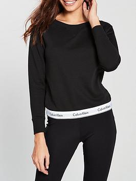 calvin-klein-modern-cotton-lounge-sweater-black