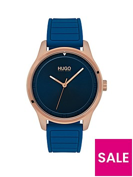hugo-hugo-exclusive-move-blue-and-rose-gold-dial-blue-silicone-strap-mens-watch