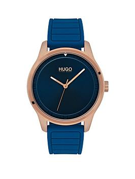 hugo-hugo-move-blue-and-rose-gold-dial-blue-silicone-strap-ladies-watch