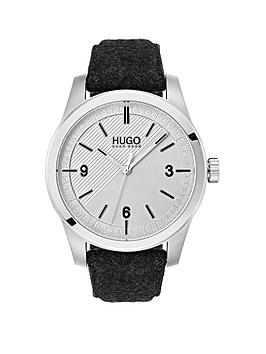 hugo-hugo-create-grey-3-hand-dial-with-grey-felt-strap-mens-watch