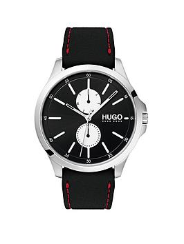 hugo-hugo-jump-black-multi-dial-with-black-rubber-strap-mens-watch