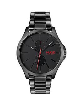 hugo-hugo-jump-black-multi-dial-with-black-ip-stainless-steel-bracelet-mens-watch