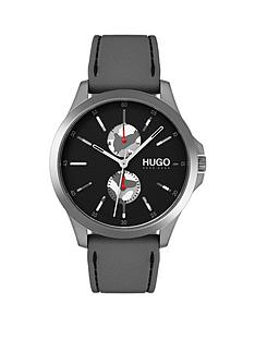 hugo-hugo-jump-black-multi-dial-with-grey-rubber-strap-mens-watch