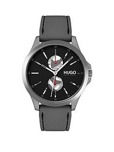 hugo-hugo-jump-black-multi-dial-with-grey-rubber-strap-mens-watch