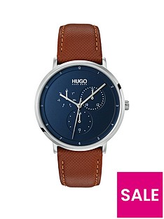 hugo-hugo-guide-blue-multi-dial-with-ss-case-and-brown-leather-strap-mens-watch