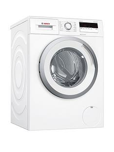 Bosch Serie 4 WAN24108GB 8kg Load, 1400 Spin Washing Machine with VarioPerfect™ - White
