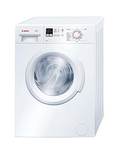 Bosch Serie 2 WAB28261GB 6kg Load, 1400 Spin Washing Machine with ActiveWater™ Technology - White