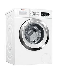Bosch Serie 8 WAW325H0GB 9kg Load, 1600 Spin EcoSilence Drive Home Connect Washing Machine - White