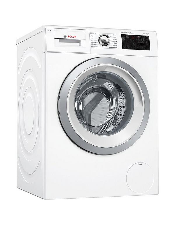 Serie 6 WAT286H0GB 9kg Load, 1400 Spin i-Dos Home Connect Washing Machine -  White