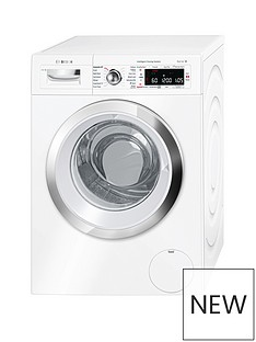 Bosch Serie 8WAWH8660GB 9kgLoad, 1400 Spin i-DOS Home Connect Washing Machine - White