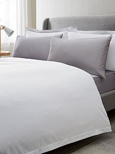 6b4532f257 Ideal Home Egyptian Cotton 200 Thread Count Oxford Edge Duvet Cover Set