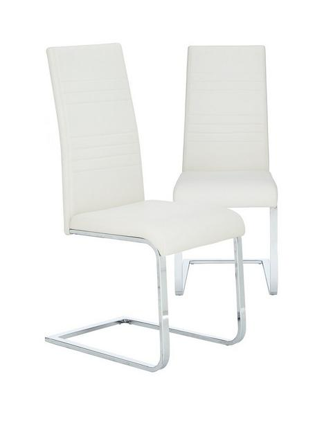 pair-of-jet-faux-leather-cantilever-dining-chairs-white