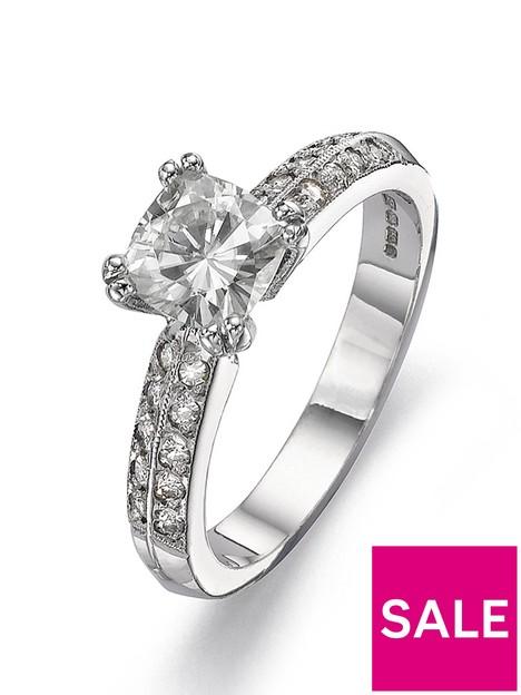 moissanite-18-carat-white-gold-100pt-equivalent-cushion-cut-ring