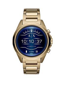 armani-exchange-armani-exchange-brushed-rose-gold-stainless-steel-bracelet-ladies-smart-watch
