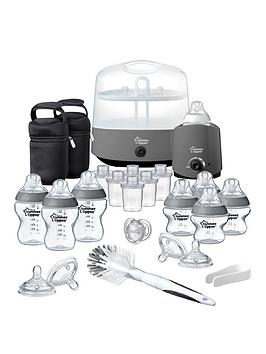 tommee-tippee-closer-to-nature-complete-feeding-kit-grey