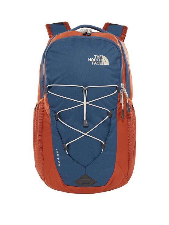 9a4e092046 THE NORTH FACE Jester Backpack - Blue/Brown | very.co.uk
