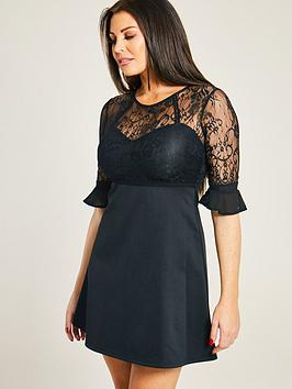 sistaglam-loves-jessica-lace-insert-skater-dress-blacknbsp