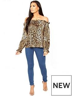 sistaglam-loves-jessica-off-the-shoulder-animal-print-blouse-printed