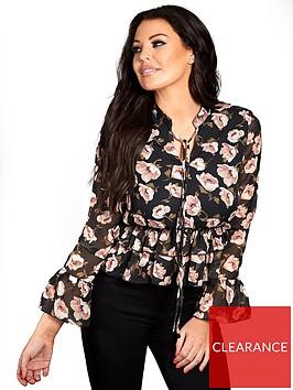 sistaglam-loves-jessica-sistaglam-loves-jessica-floral-printed-wrap-blouse