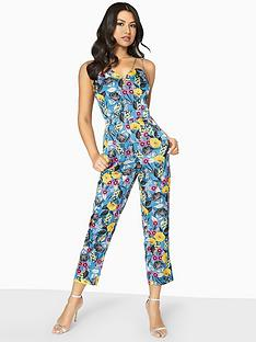 girls-on-film-wrap-front-floral-playsuit-printed