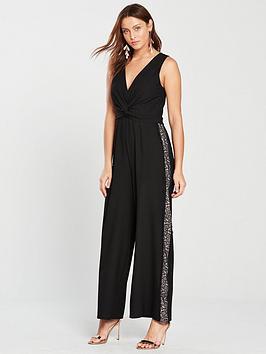 little-mistress-lace-trim-sequin-stripe-jumpsuit-blacknbsp