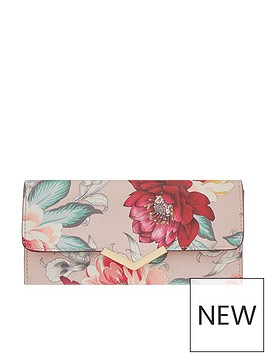accessorize-mocha-printed-hannah-fold-over-wallet-multi