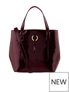 accessorize-accessorize-patent-double-handle-bucket-bag