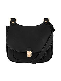 accessorize-kelly-curved-top-saddle-bag-ndash-black