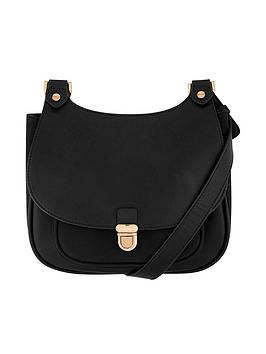 accessorize-kelly-curved-top-saddle-bag-ndash-black