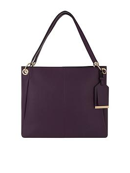 Accessorize Becca Shoulder Bag - Burgundy