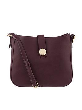 Accessorize Bianca Shoulder Bag - Burgundy