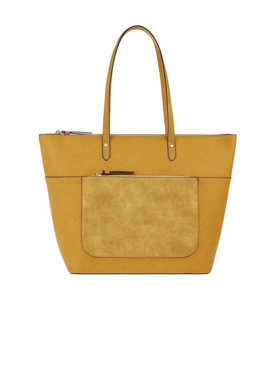 5e38e7892b Accessorize Emily Tote Bag - Yellow