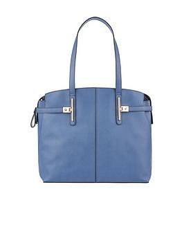 Accessorize Cleo Shoulder Bag - Blue