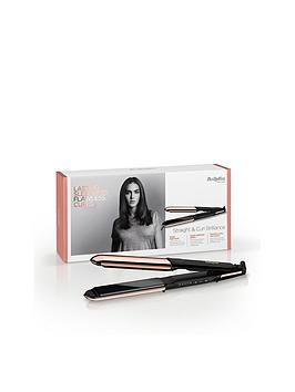 Babyliss Straight &Amp; Curl Brilliance In Rose Gold