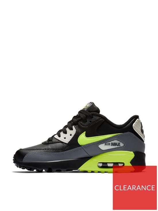 the best attitude 60715 eaba1 Nike Air Max 90 Ltr Junior Trainer