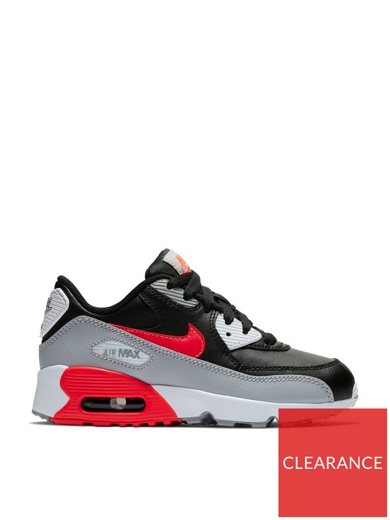 wholesale dealer 52b3b 13be8 Nike AIR MAX 90 LTR CHILDRENS TRAINER
