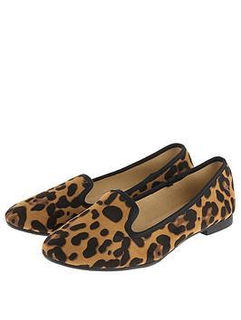 Accessorize Luna Slipper Shoe - Leopard