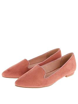 Accessorize Lucy Pointed Shoe - Pink