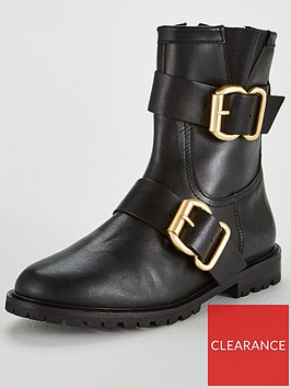 office-anarchy-buckle-calf-boot-black