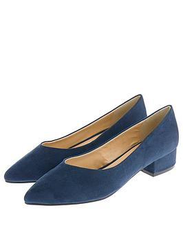 accessorize-vicky-v-pointed-suede-block-heels-blue