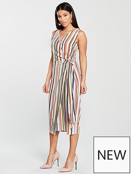 warehouse-candy-stripe-midi-dress-multi