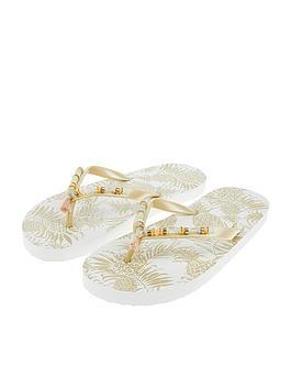 accessorize-metallic-pineapple-eva-flip-flops-multi