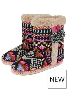 accessorize-frosty-fairisle-slipper-boot