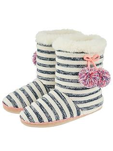 accessorize-knitted-striped-slipper-boots-navy