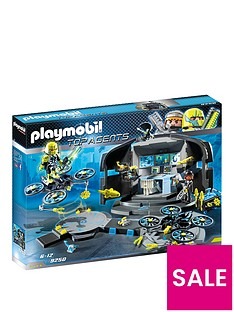 playmobil-9250-top-agents-dr-drones-command-base