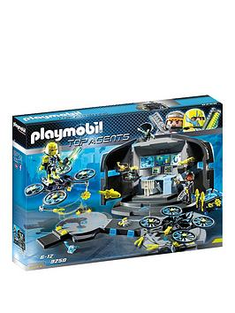 playmobil-playmobil-9250-top-agents-dr-drone039s-command-base