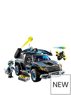 Playmobil Playmobil 9254 Top Agents Dr Drone's Pickup