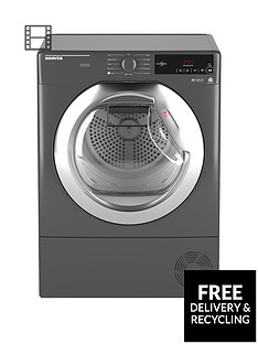 hoover-dynamic-next-dxc9tcer-9kg-loadnbspaquavision-condenser-tumble-dryer-with-one-touchnbsp--graphitechrome