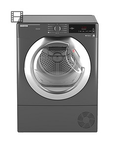 hoover-dynamic-nextnbspdxc10tcernbsp10kgnbspaquavision-condenser-tumble-dryer-with-one-touchnbsp--graphitechrome